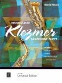 Klezmer Saxophone Duets für 2 Saxophone (Alt- und Tenorsaxophon), Spielpartitur