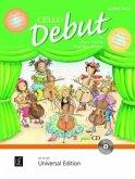 Cello Debut, für 1-2 Violoncelli + Klavierbegleitung, m. Audio-CD