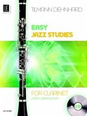 Easy Jazz Studies, für Klarinette, m. Audio-CD