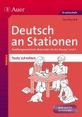 Deutsch an Stationen SPEZIAL Texte schreiben 1-2