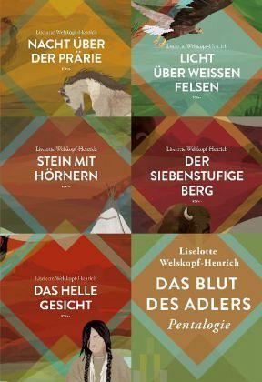 Das Blut des Adlers Band 1 bis 5 - Welskopf-Henrich, Liselotte
