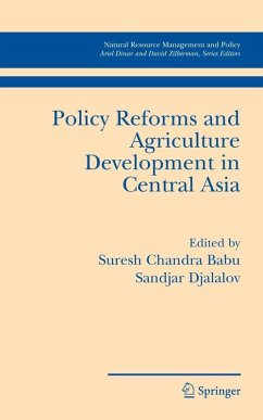 Policy Reforms and Agriculture Development in Central Asia (eBook, PDF)