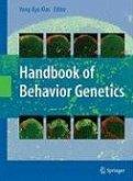 Handbook of Behavior Genetics (eBook, PDF)