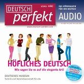 Deutsch lernen Audio - Höfliches Deutsch (MP3-Download)