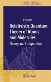 Relativistic Quantum Theory of Atoms and Molecules (eBook, PDF)