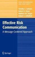 Effective Risk Communication (eBook, PDF) - Ulmer, Robert R.; Sellnow, Timothy L.; Littlefield, Robert; Seeger, Matthew W.