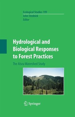 Hydrological and Biological Responses to Forest Practices (eBook, PDF)