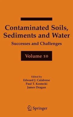 Contaminated Soils, Sediments and Water (eBook, PDF)