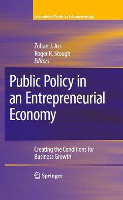 Public Policy in an Entrepreneurial Economy (eBook, PDF)