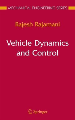 Vehicle Dynamics and Control (eBook, PDF) - Rajamani, Rajesh