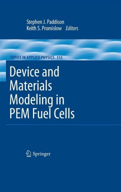 Device and Materials Modeling in PEM Fuel Cells (eBook, PDF)