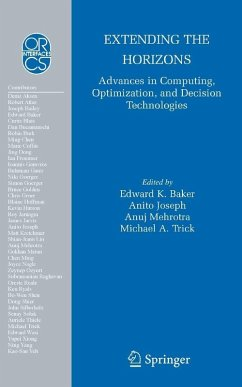 Extending the Horizons: Advances in Computing, Optimization, and Decision Technologies (eBook, PDF)