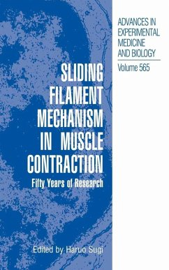 Sliding Filament Mechanism in Muscle Contraction (eBook, PDF)