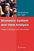 Biometric System and Data Analysis (eBook, PDF)