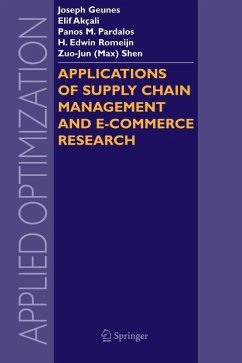 Applications of Supply Chain Management and E-Commerce Research (eBook, PDF)