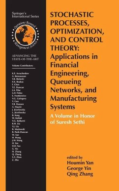 Stochastic Processes, Optimization, and Control Theory: Applications in Financial Engineering, Queueing Networks, and Manufacturing Systems (eBook, PDF)