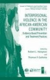 Interpersonal Violence in the African-American Community (eBook, PDF)