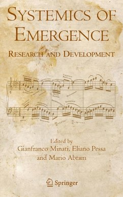 Systemics of Emergence: Research and Development (eBook, PDF)