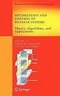 Optimization and Control of Bilinear Systems (eBook, PDF) - Pardalos, Panos M.; Yatsenko, Vitaliy A.