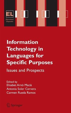Information Technology in Languages for Specific Purposes (eBook, PDF)
