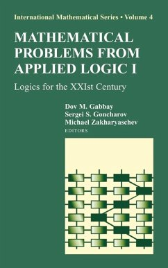 Mathematical Problems from Applied Logic I (eBook, PDF)