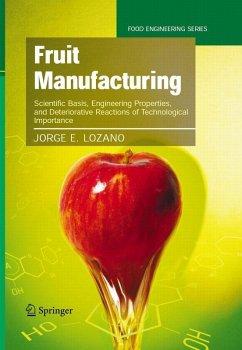 Fruit Manufacturing (eBook, PDF) - Lozano, Jorge E.