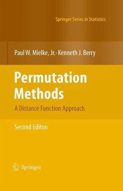 Permutation Methods (eBook, PDF) - Berry, Kenneth J.; MielkeJr., Paul W.