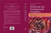 Handbook of Intellectual and Developmental Disabilities (eBook, PDF)
