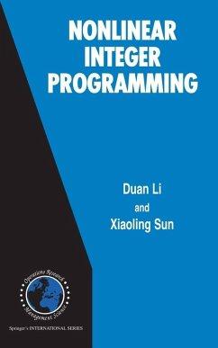 Nonlinear Integer Programming (eBook, PDF) - Li, Duan; Sun, Xiaoling