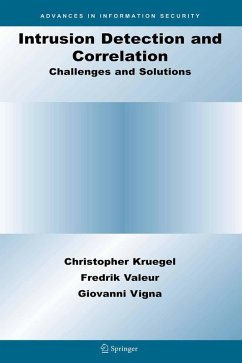 Intrusion Detection and Correlation (eBook, PDF) - Kruegel, Christopher; Valeur, Fredrik; Vigna, Giovanni