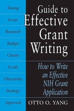 Guide to Effective Grant Writing (eBook, PDF) - Yang, Otto O.