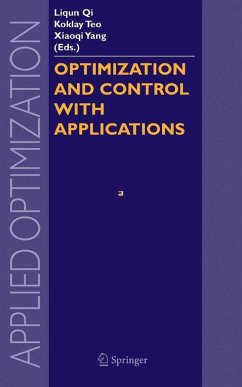Optimization and Control with Applications (eBook, PDF)