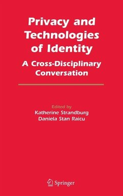 Privacy and Technologies of Identity (eBook, PDF)