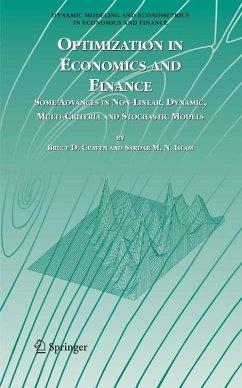 Optimization in Economics and Finance (eBook, PDF) - Craven, Bruce D.; Islam, Sardar M. N.