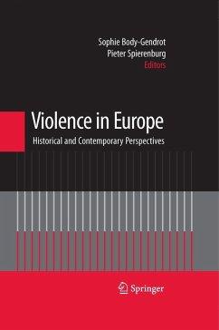 Violence in Europe (eBook, PDF)