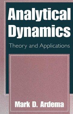 Analytical Dynamics (eBook, PDF) - Ardema, Mark D.