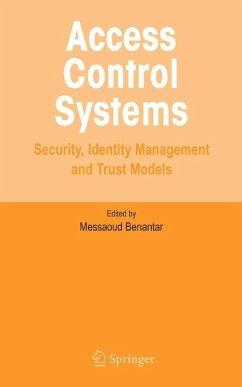 Access Control Systems (eBook, PDF) - Benantar, Messaoud