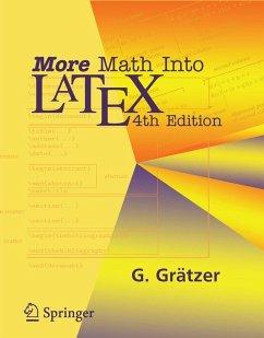 More Math Into Latex (eBook, PDF) - Grätzer, George