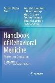 Handbook of Behavioral Medicine (eBook, PDF)