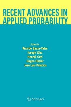 Recent Advances in Applied Probability (eBook, PDF)