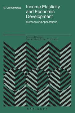 Income Elasticity and Economic Development (eBook, PDF) - Haque, M. Ohidul