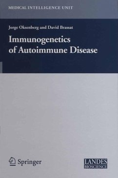 Immunogenetics of Autoimmune Disease (eBook, PDF) - Brassat, David; Oksenberg, Jorge