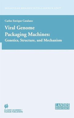 Viral Genome Packaging Machines: Genetics, Structure, and Mechanism (eBook, PDF) - Catalano, Carlos Enrique