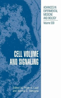 Cell Volume and Signaling (eBook, PDF)