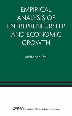 Empirical Analysis of Entrepreneurship and Economic Growth (eBook, PDF) - vanStel, André