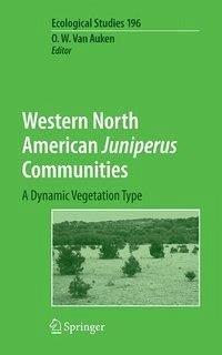 Western North American Juniperus Communities (eBook, PDF)