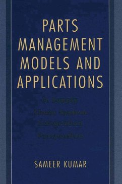 Parts Management Models and Applications (eBook, PDF) - Kumar, Sameer