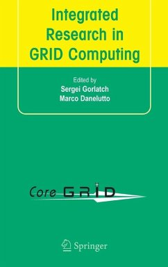 Integrated Research in GRID Computing (eBook, PDF)