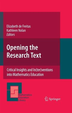 Opening the Research Text (eBook, PDF)