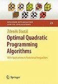 Optimal Quadratic Programming Algorithms (eBook, PDF)